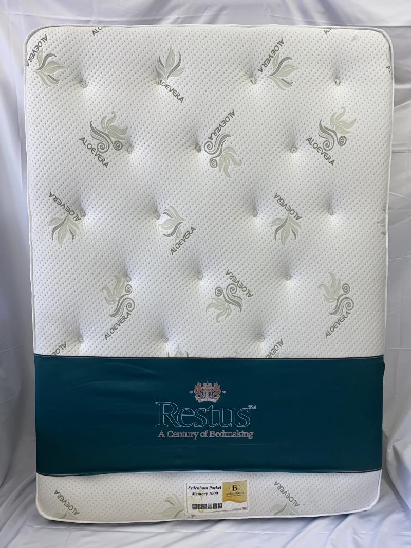 1000 pocket memory foam mattress