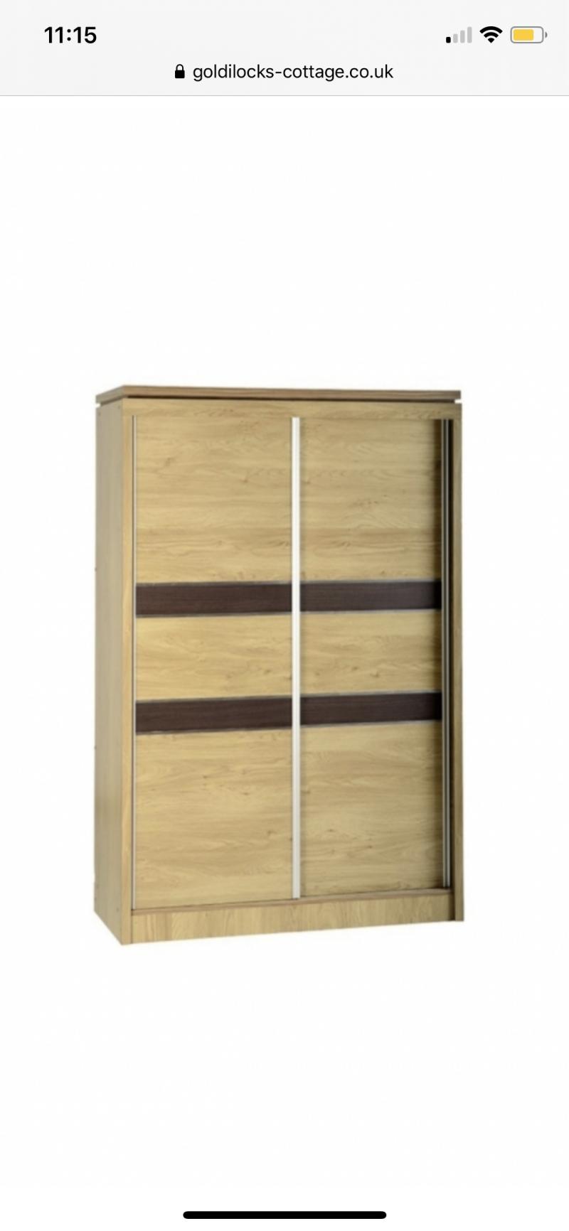 Charles 2-door sliding wardrobe