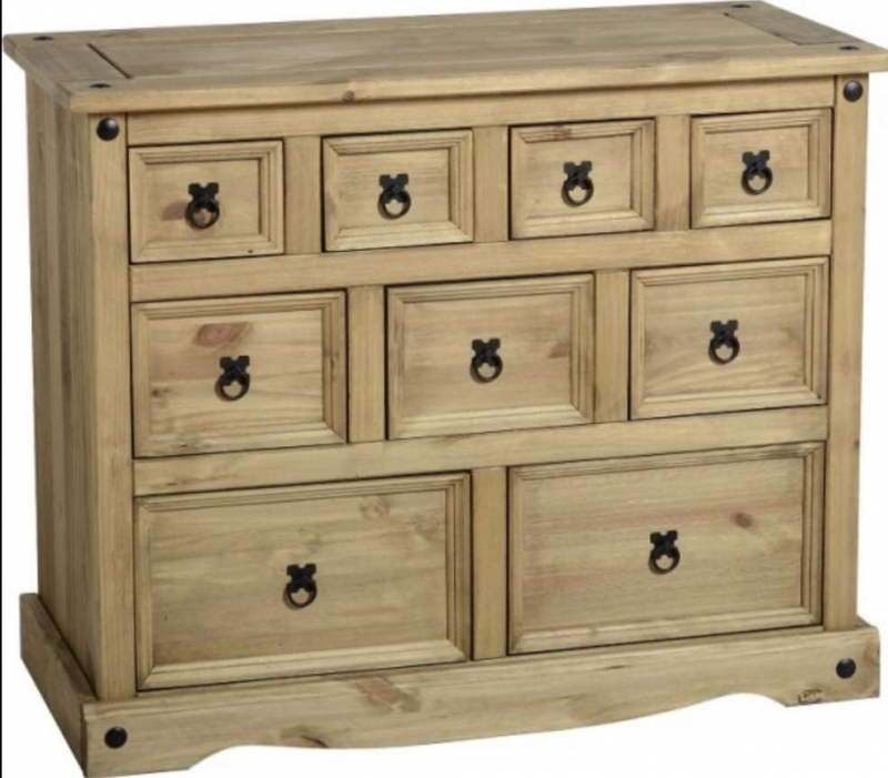 Corona 4 + 3 + 2 Drawer Merchant Chest