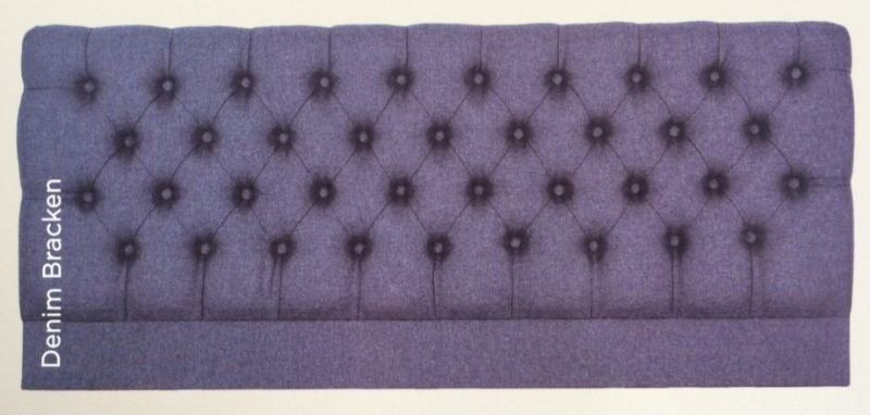 Dallas Denim Bracken Headboard