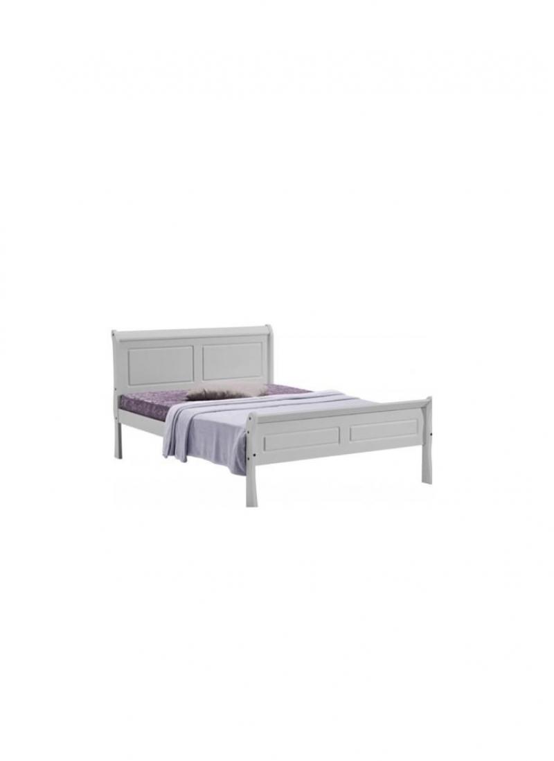 """Georgia 4' 6"""" sleigh bed"""