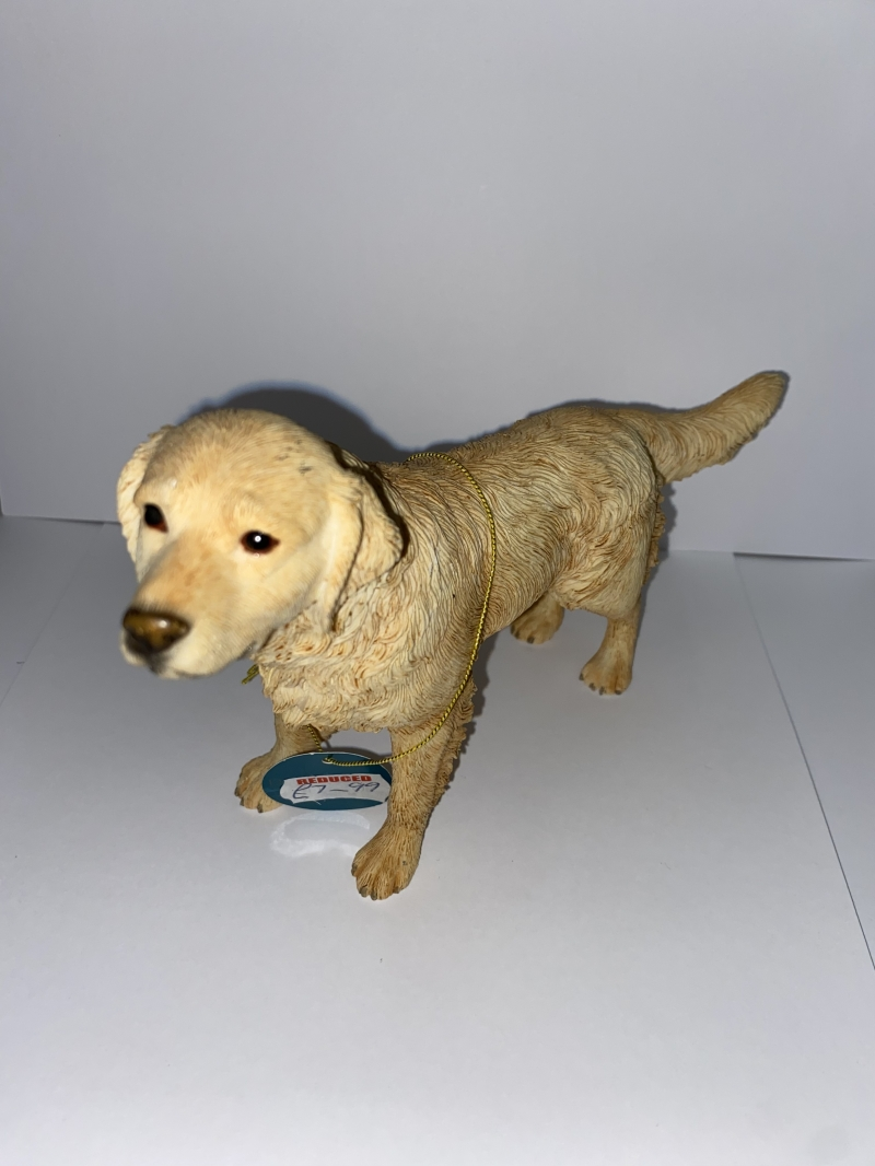 Golden lab dog ornament