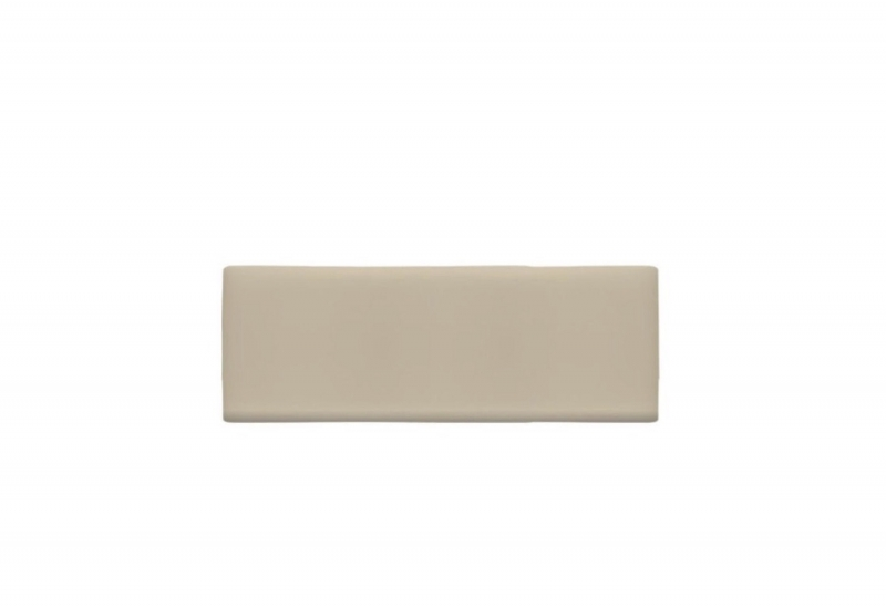 Manhattan Cream Faux Leather Headboard