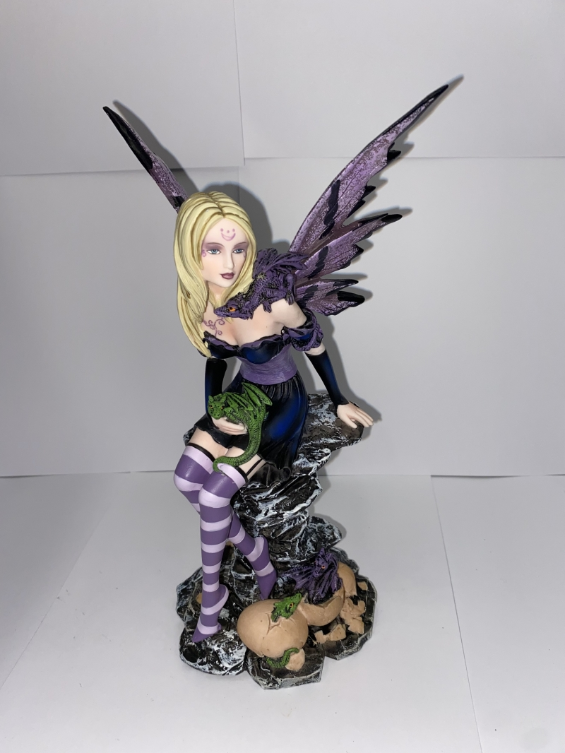Nemesis Amethyst and Hatchings