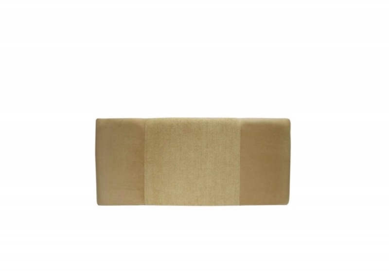 Seville Straw Faux suede and straw basket weave Headboard