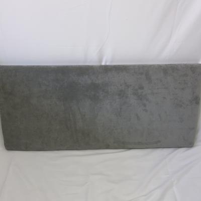 3ft grey fabric headboard