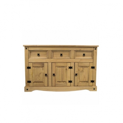 Corona 3 Door 3 Drawer Sideboard