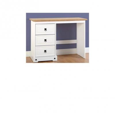 Corona 3 drawer dressing table