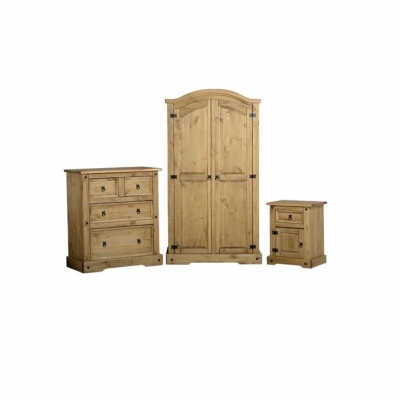 Corona Trio Bedroom Set