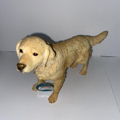 Golden lab dog ornament