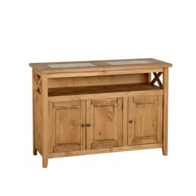Salvador Tile Top 3 Door Sideboard
