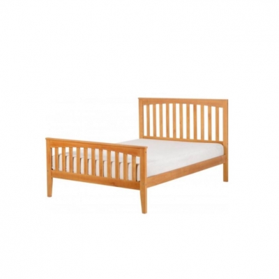 "Stella 4'6"" bed high foot end"