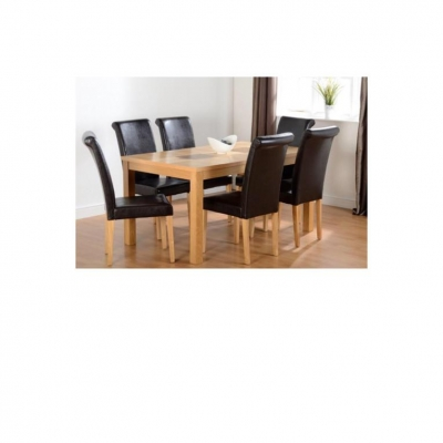 "Wexford 59"" Dining Set - Dunoon Chairs"